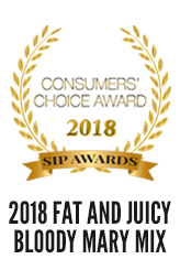 2018 SIP International Consumers Choice Award for Outstanding Bloody Mary